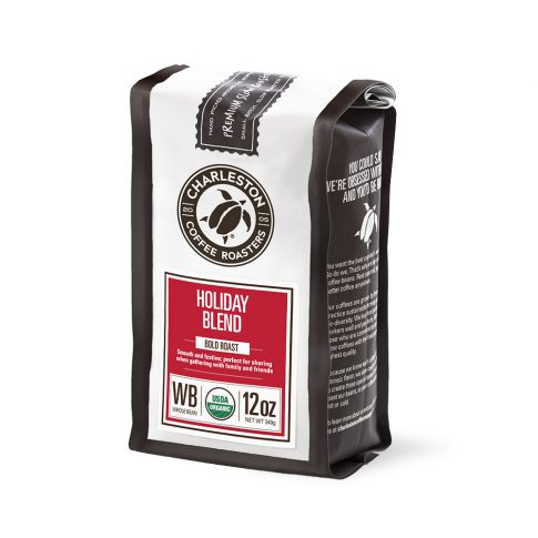 Charleston Coffee Roasters Holiday Blend Whole Bean Coffee (12 ounce Bag)