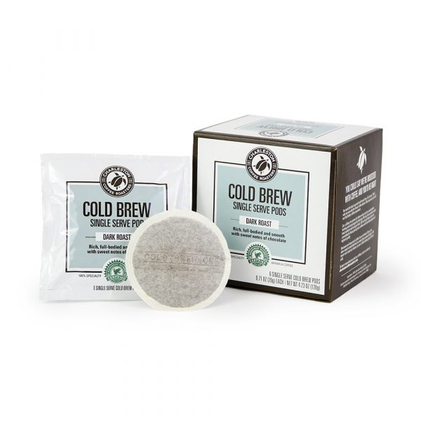 Charleston Coffee Roasters Cold Brew Single Serve Pods (6 Pods)