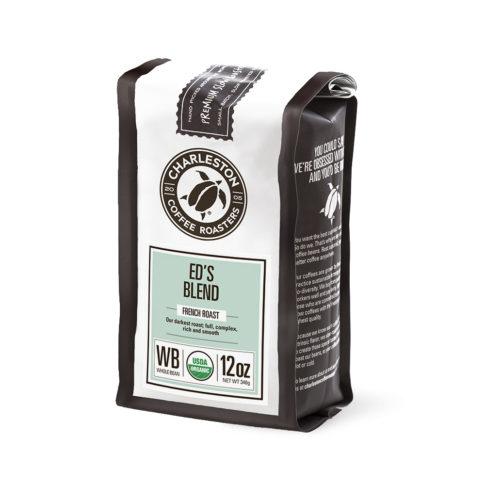 Charleston Coffee Roasters Ed's Blend Whole Bean Coffee (12 ounce Bag)