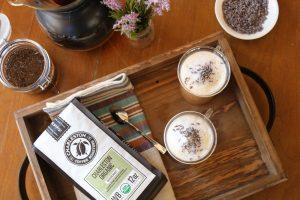 Charleston Coffee Roasters Honey Lavender Cafe au Lait - With Charleston Organic Blend
