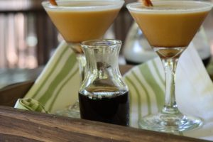 Charleston Coffee Roasters Dirty Chai Coffee Martini -Coffee Simple Syrup