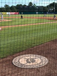 Charleston Coffee Roasters Teaming up with RiverDogs Baseball - Warm-up Circle and Outfield