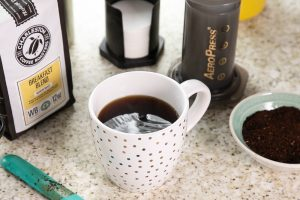Charleston Coffee Roasters - How to Use the AeroPress - Coffee in Cup