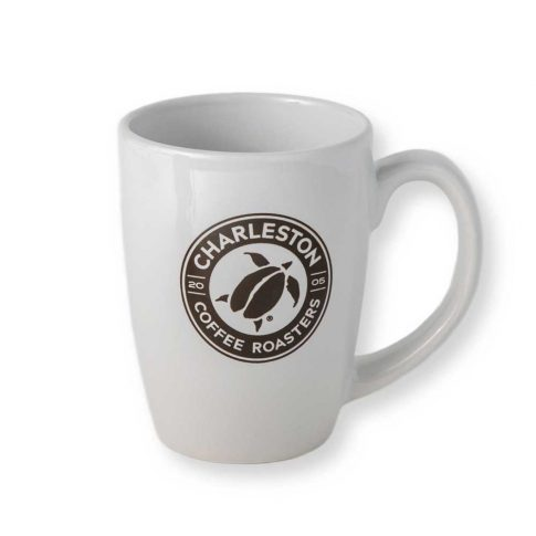 Charleston Coffee Roasters Logo Bistro Mug (10 ounces) - Front