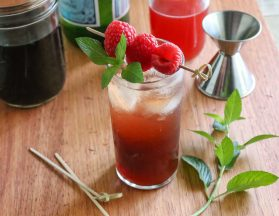 Charleston Coffee Roasters Raspberry Cold Brew Shrub
