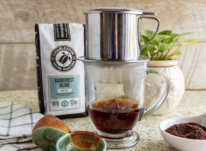 Charleston Coffee Roasters Vietnamese Drip Coffee - Brewing Coffee