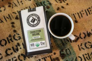 Charleston Coffee Roasters - Charleston Organic Blend - Bag and Cup