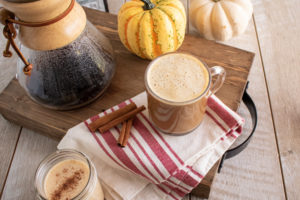 Charleston Coffee Roasters Pumpkin Spice Cafe Au Lait